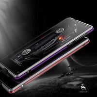 Original LUPHIE Phone Cases For Xiaomi Mi Mix Luxury Slim Metal Aluminum Hard Armor Bumper Case