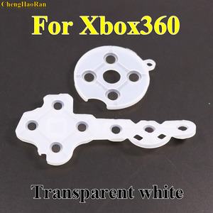 Image 1 - 1x Controller Conductive Rubber Contact Pad Button D Pad for Microsoft for Xbox 360 wireless Controller Replacement repair Parts