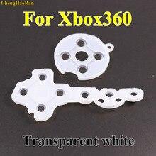1x Controller Geleidend Rubber Contact Pad Knop D Pad voor Microsoft voor Xbox 360 wireless Controller Vervanging reparatie Onderdelen