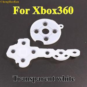 Image 1 - 1x Regolatore di Gomma Conduttiva Contatto Pad Button D Pad per Microsoft per Xbox 360 wireless Controller di Ricambio Parti di riparazione