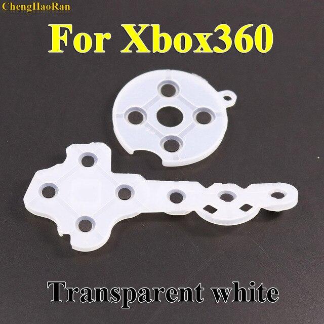 1x Regolatore di Gomma Conduttiva Contatto Pad Button D Pad per Microsoft per Xbox 360 wireless Controller di Ricambio Parti di riparazione