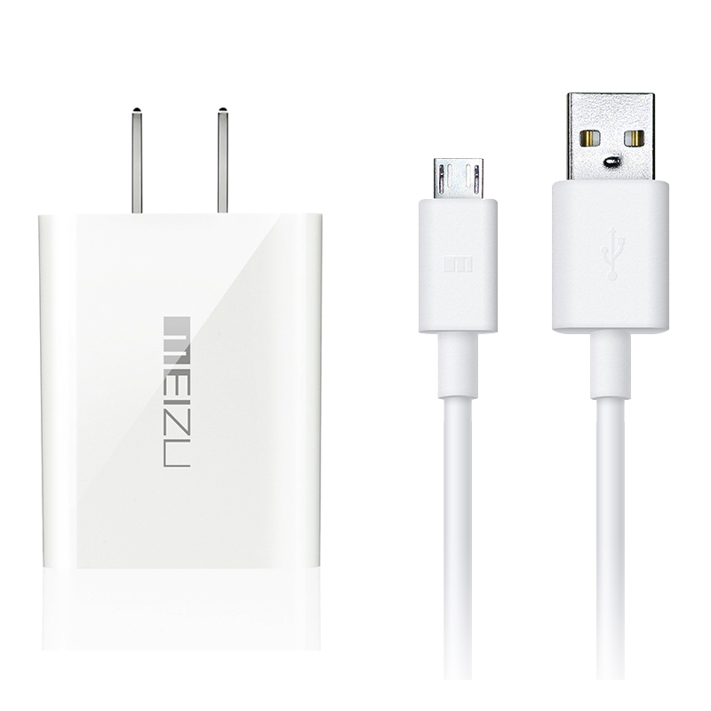 Original Wall Travel charger QC3.0 Quick Charging Adapter+USB Data Sync Type C/Micro USB Cable For MEIZU MX5 MX6 Pro5 MEILAN Max