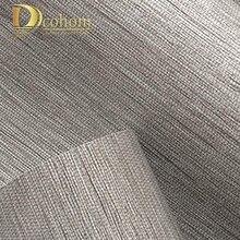 Moderne Klassische Einfarbig Textur Holz Papier Stroh 3d Tapete Wohnzimmer  Geprägte Dekorative Tapeten Wohnkultur Grau(