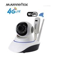 720P Wireless IP Camera wi-fi alarm wifi camera surveillance 360 degree Pan Tilt 4G LTE FDD cctv camera 3G with sim card slot