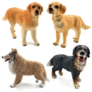 Image 2 - Далматинец бултерьер Лабрадор сибирская хаски, собака, фигурки животных, фигурки, домашний декор, подарок для детей, детские игрушки