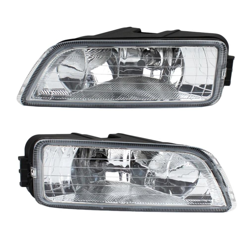 1 Pair Car Fog Light Fit 2003-2007 for Honda Accord 4DR Sedan Driving Front Side Fog Lamp LED Car Light Drop Shipping red clear tail lights led brake 1 pair lh rh fit for honda accord 2013 2014 2015 4 door sedan