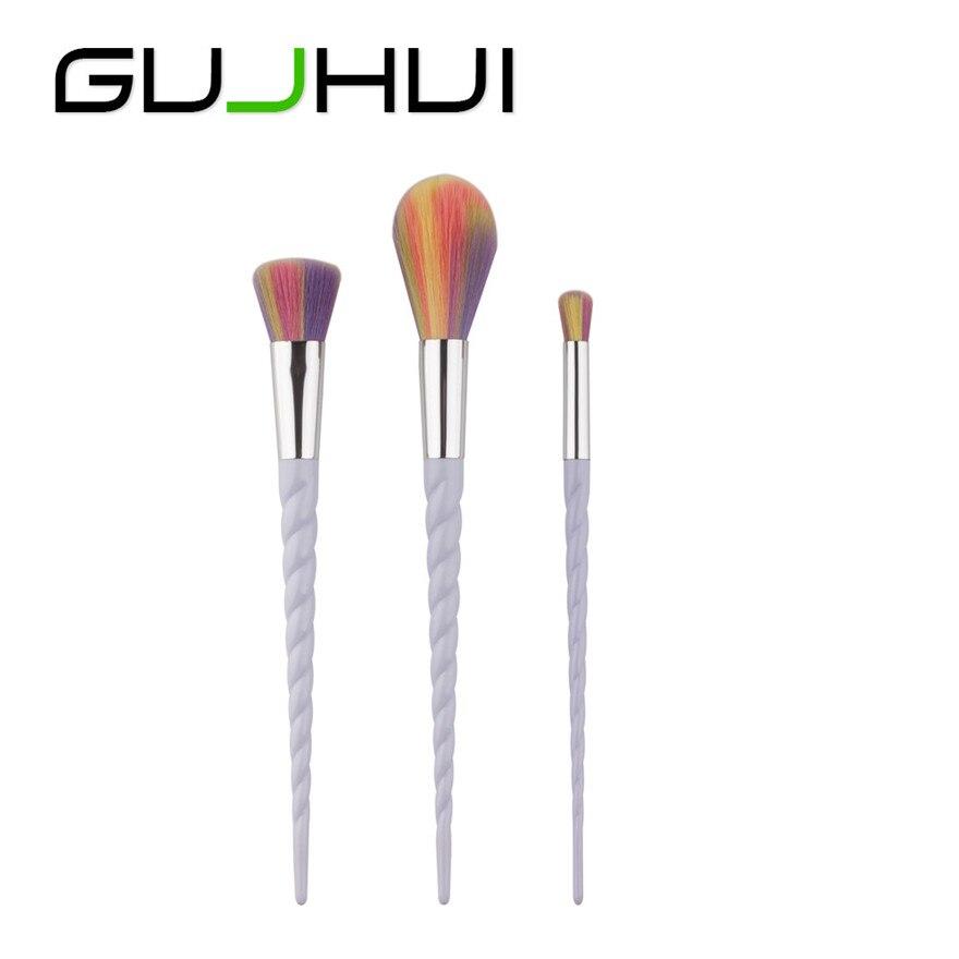 High Quality 3PCS  MINI Make Up Foundation Eyebrow Eyeliner Blush Cosmetic Concealer Brushes 16*3*1.5 cm Wholesale Free Shipping  3pcs 3 175x15mm up