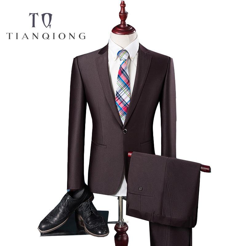 Business Custom Made Navy Blue Men Suit men Classic Groom Tuxedos Blazer Men Prom Mens suits