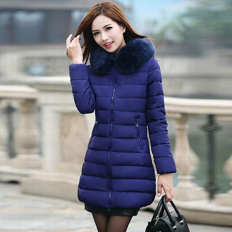 women winter coats women winter jacket women Womens Winter Jackets And Coats 2016 Thick Warm Hooded Down Cotton Padded Parkas For Women's Winter Jacket Female Manteau Femme (1)
