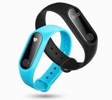 M2 Смарт Браслет монитор сердечного ритма Bluetooth Smart группа здоровья фитнес-трекер Браслет Носимых устройств