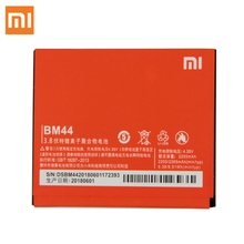 Original XIAOMI BM44 Replacement Battery For Xiaomi Redmi 2 Red rice 1S Mi 2A Authentic Phone Batteries 2200mAh