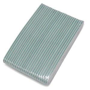 Image 5 - Kimcci 25 יח\חבילה מכירה לוהטת למעלה איכות נייל קבצי מניקור כלים סט מלטש בלוקים Slim חיץ קצה 150 נייל אמנות סלון ספקי