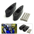"R25 R3 Motorcycle Mirror Riser Extenders Spacers Extension Adapter Adaptor Kit for Yamaha YZF-R3 R25 2014 2015 2016 1.25"" (32mm)"