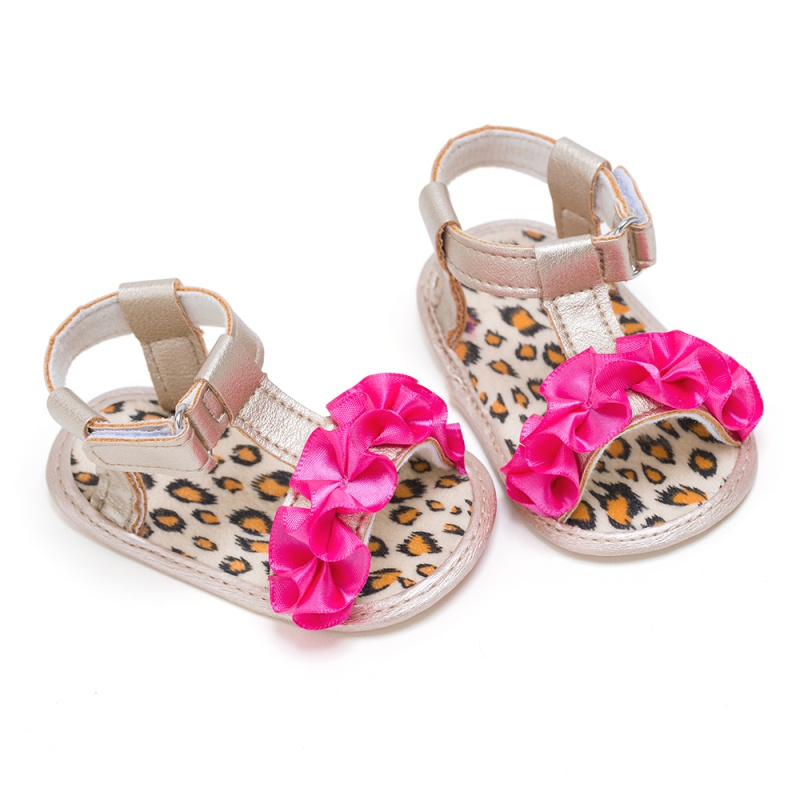 0-18M Baby Sandals Summer Princess Infant Kids Girl Soft Shoes Summer Sandals For Girls Cute Shoes