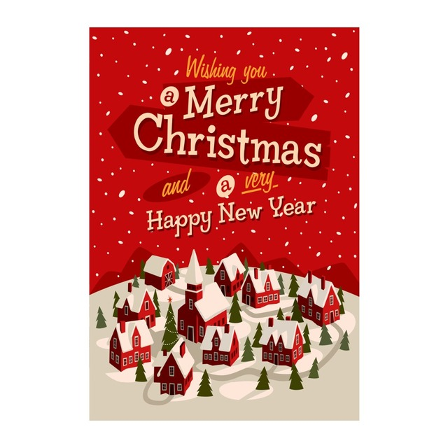 wish you a merry christmas happy new year decorative outdoor and indoor flags 100 - Decorative Christmas Flags