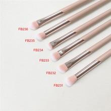 FB-SERIES pembe göz fırçası seti FB231 FB232 FB233 FB234 FB235 FB236 FB237 göz farı karıştırma Smokey Shader leke makyaj fırçası aracı