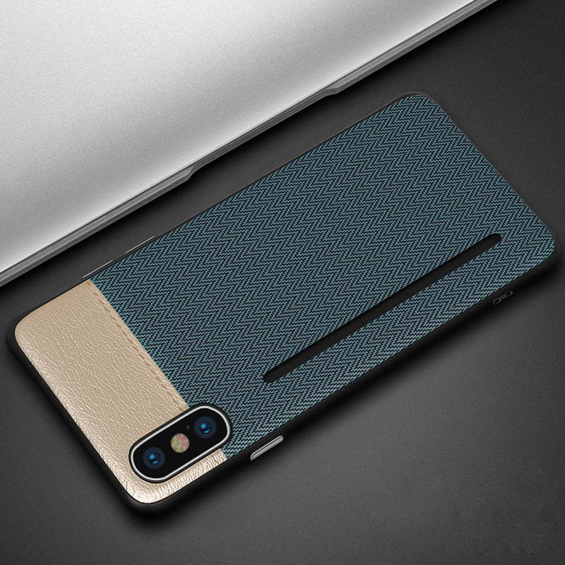 Luxury leather case for iphone 6 6s 7 8 plus X XR XS MAX cover with