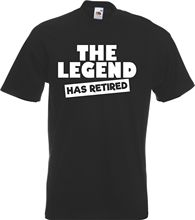 The Legend Has Retired - Funny Retirement Gift T-Shirt Retiring Leaving Present  New T Shirts Unisex Tops free shipping