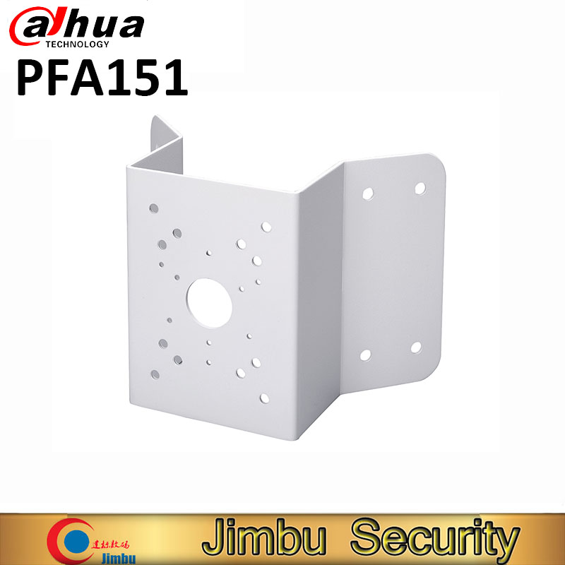 Dahua Corner Mount Bracket PFA151 Material: SECC Corner Mount Bracket Neat & Integrated design PFA151 dahua hanging mount adapter pfa100