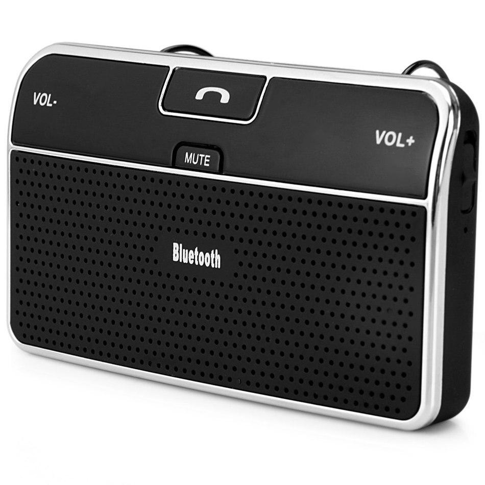 Universal Bluetooth 4.0 Voiture Bluetooth Haut-Parleur avec Mains Libres Appelant Guidage Vocal Adaptateur Chargeur pour Téléphone portable Tablet
