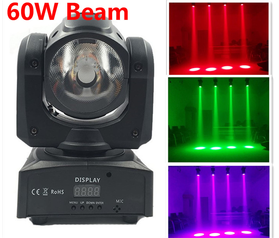 12X mini led moving head 60W RGBW 4in1 beam moving head light beam moving head light super bright LED DJ Wash Light dmx control 4pcs 60w flightcase led spot moving head light usa luminums mini led beam moving head 60w rgbw 4in1 beam led dj spot light