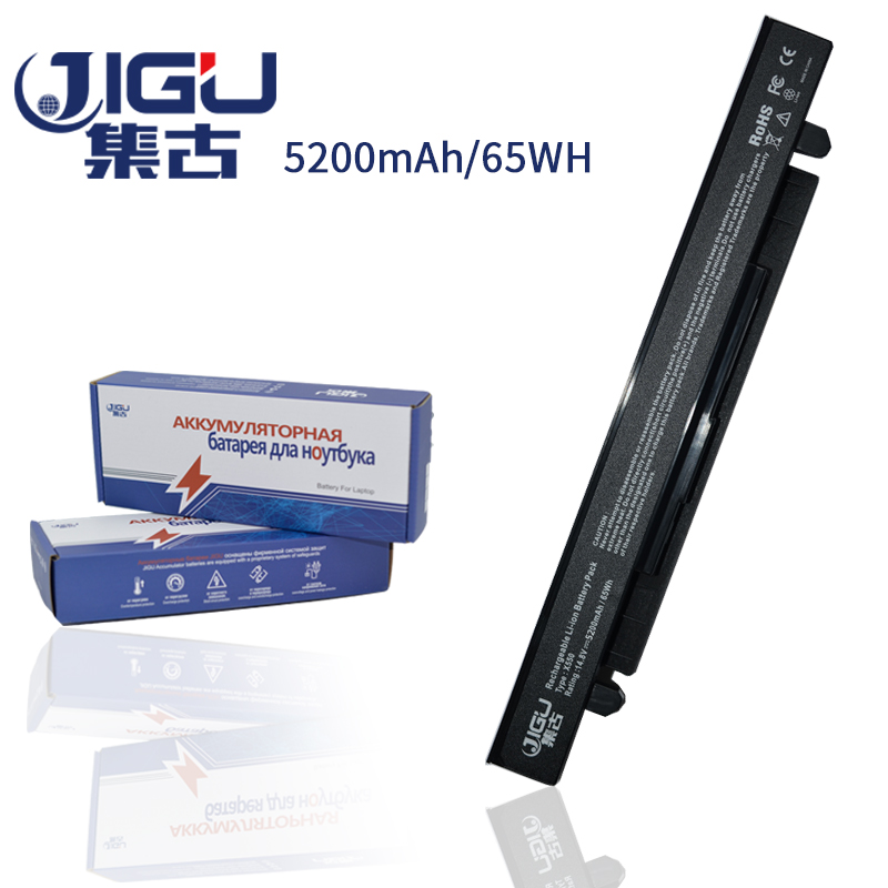 все цены на JIGU Laptop Battery A41-X550A A41-X550 For Asus A450L A450C X550C X550B X550V X550D онлайн