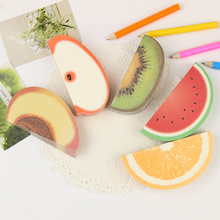 1 PC Novelty Various Fruit Design Memo Pad Sticky Notes Memo Notebook Pad Promotional Gift Stationery