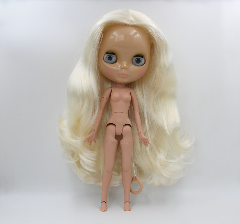 Free Shipping big discount RBL-575J DIY Nude Blyth doll birthday gift for girl 4color big eye doll with beautiful Hair cute toyFree Shipping big discount RBL-575J DIY Nude Blyth doll birthday gift for girl 4color big eye doll with beautiful Hair cute toy