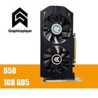 원래 그래픽 카드 GTX650의 1 기가바이트 GDDR5 비트 pci 익스프레스 새겨 져 드 비디오 요리 graphique 비디오 카드 Nvidia GTX VGA