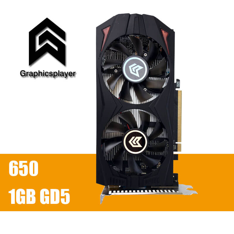 Original Graphics Card GTX650 1GB GDDR5 128Bit pci Express Placa de Video carte graphique Video Card for Nvidia GTX VGA original gtx980m gtx 980m graphics gpu card n16e gx a1 8gb gddr5 for alienware clevo gtx980 video card gpu replacement