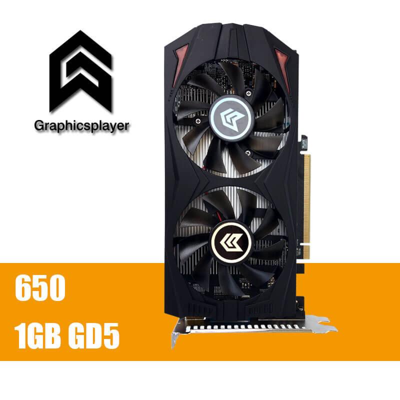 Tarjeta gráfica original GTX650 1 GB GDDR5 128Bit PCI Express Placa de video tarjeta para NVIDIA GTX VGA
