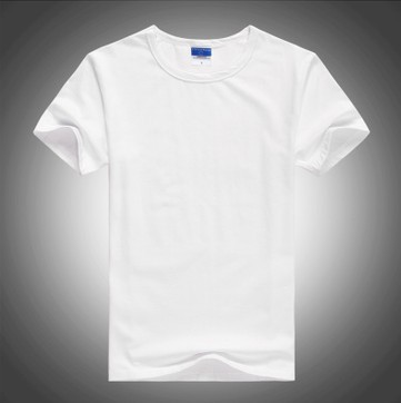 aeb807c0 Boys O neck Basic tee blank t shirts cotton round neck cheap plain white t  shirts Logo printing Accepted