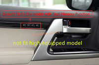 fit low equipped Inside Door Panel Stripes Cover Trim For Toyota Land Cruiser LC200 2008 2016