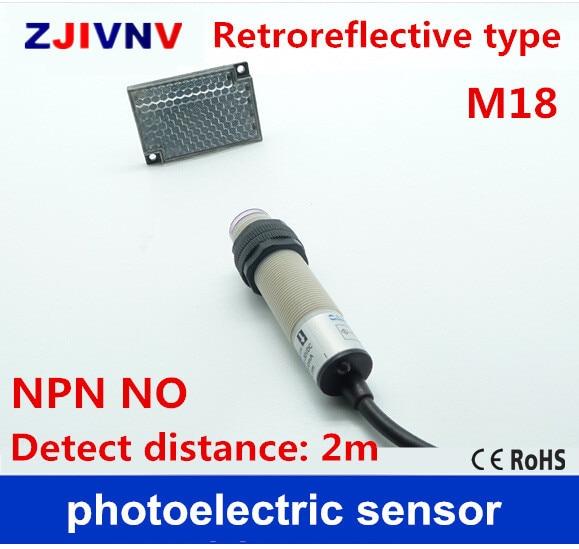 Aliexpress.com : Buy Retroreflective type M18 NPN NO DC 3 wires ...