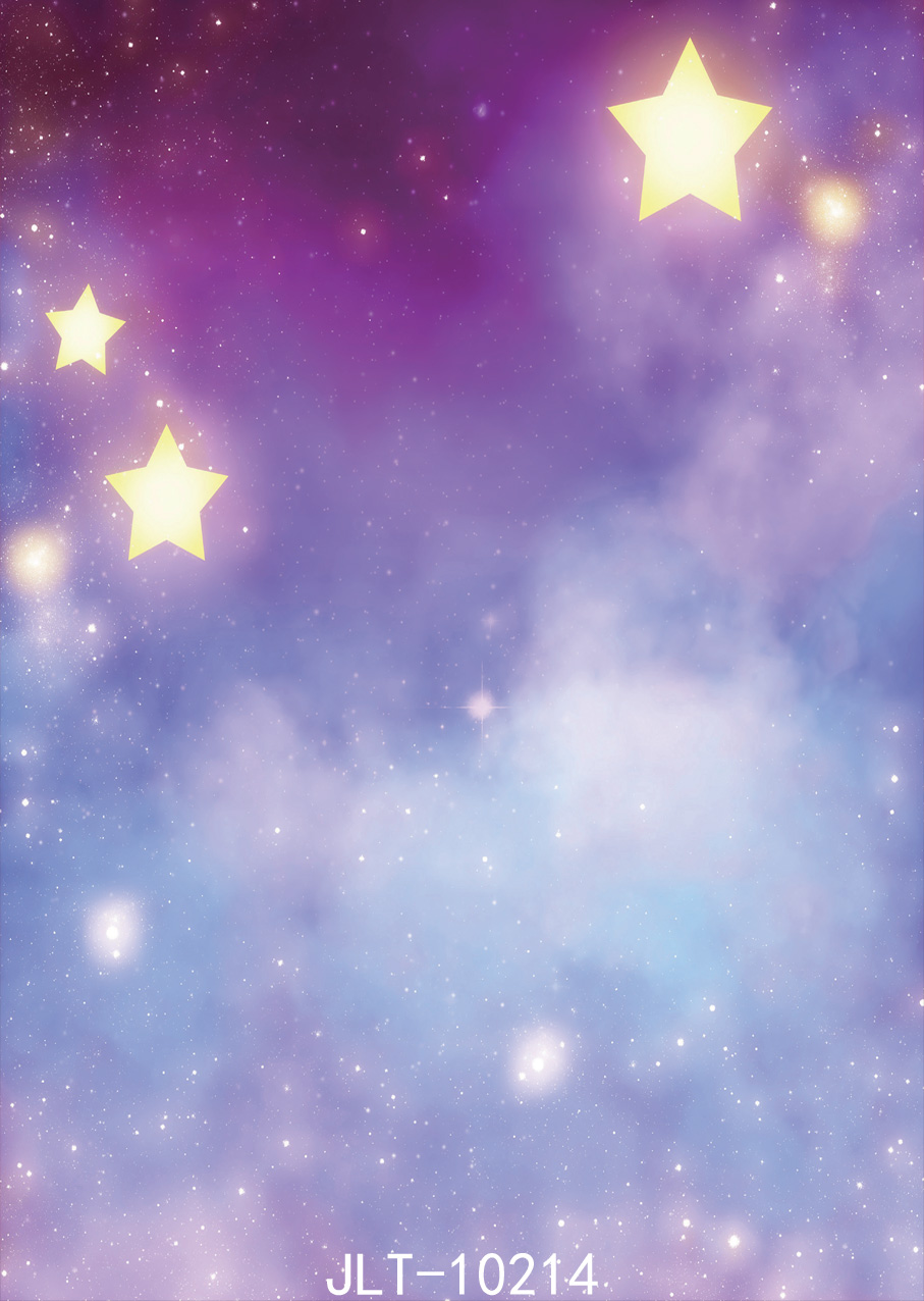 SJOLOON 5X7ft Starry sky and cosmos fantasy background children and christams photo background for studio photo backdrops dvinyl