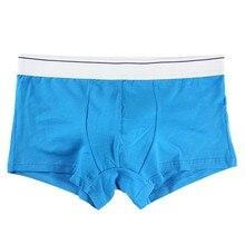 2017 NewSummer time Fashion Men Underwear Boxers Shorts Cotton Men Boxers Soft Underpants Underwear Masculina Cueca Boxers j2