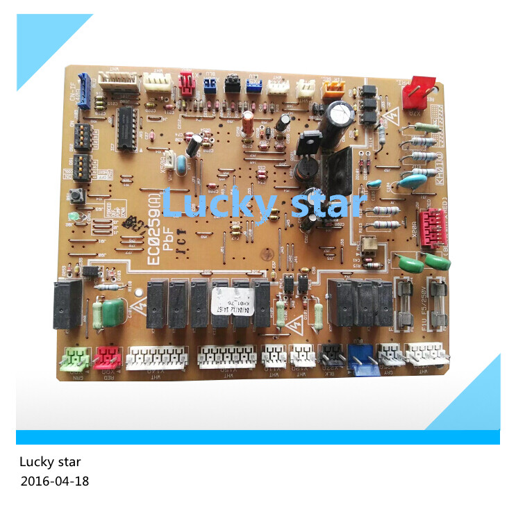 95% new for Air conditioning board circuit board EC0435D EC0259A EC0259 RY125LMY1L computer board good working used for air conditioning computer board circuit board ce kfr71dl sn1y b d 1 1 1 1 board good working