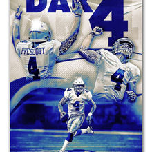 Add to Wish List. Hot Dak Prescott Dallas Cowboys Football-Silk Art Poster  Wall Sicker Decoration Gift(China 7dc199e88