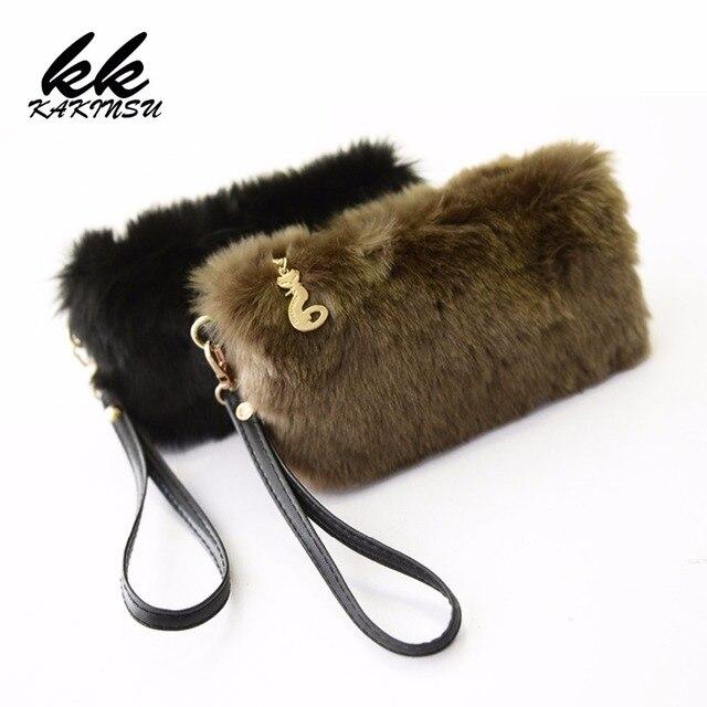 2018 женский клатч конверт сумка женская сумочка кошелек сумки Bolsas Bolsos Sac Femme зима искусственный мех кроличья шерсть клатч норка D