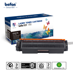 Befon CF217A CF217 217 217A 17A טונר מחסנית תואם עבור HP LaserJet Pro M102a M102W 102 MFP M130a M130fn 130fn m102 M130