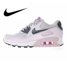 the best attitude 5535c 36613 Original Authentic Nike Air Max 90 Women s Running Shoes Sports Outdoor  Sneakers Good Quality Lightweight Breathable 616730-112