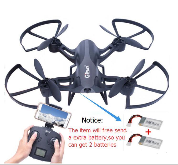 Nouveau drone aérien RC quadrirotor T-905HW 2.4G 3D rouleau sans tête mode WIFI FPV hélicoptère télécommandé avec caméra 720 P vs X8W X8c