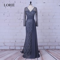 Blake Lively Grey Sexy Lace Long Sleeve Celebrity Prom Dress For Sale Gossip Girl Serena Fashion