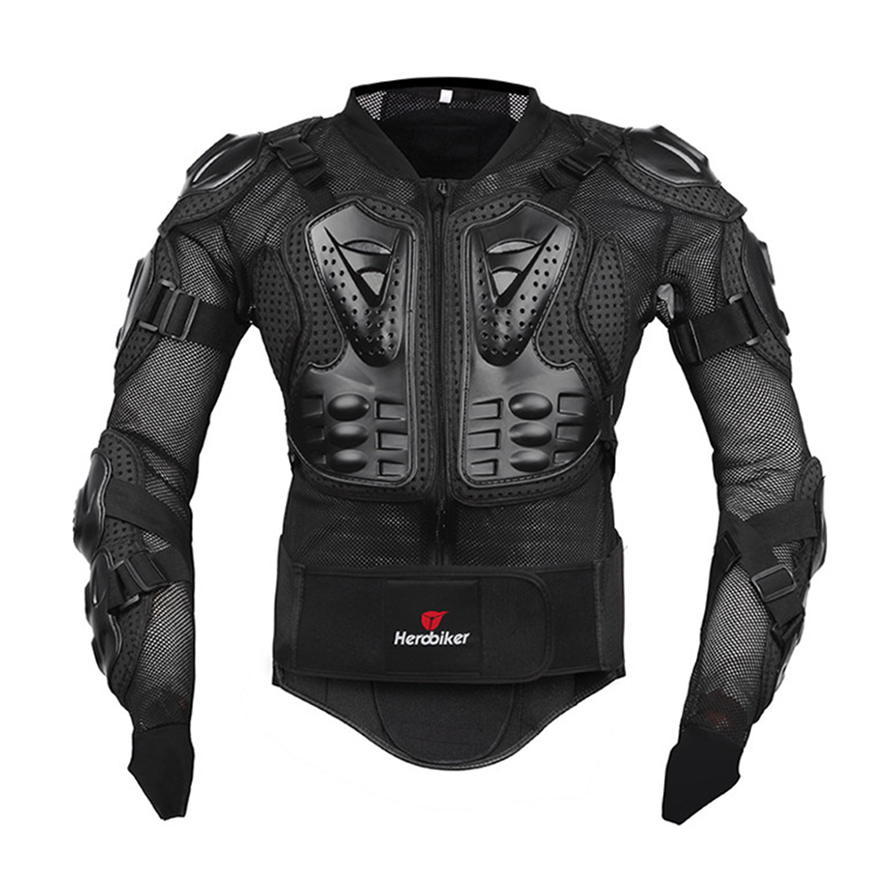 HEROBIKER Motorcycle Armor Protective Gear Motorcycle Jacket Body Armor Racing Moto Jacket Motocross Clothing Protector Guard-in Armor from Automobiles & Motorcycles    2