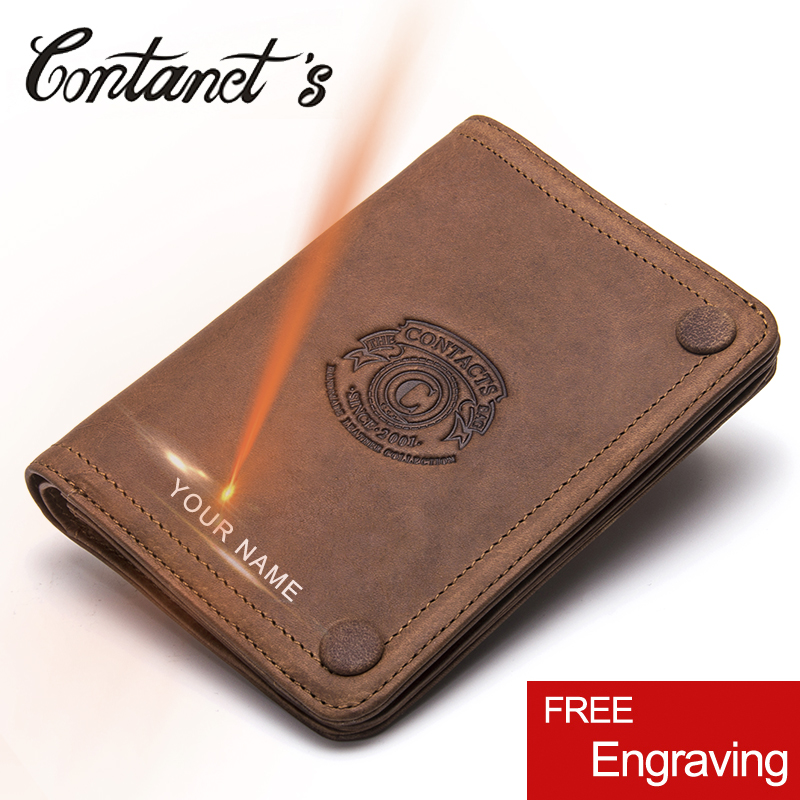 New Casual 100% Genuine Leather Men Wallet Famous Brand Organizer Wallets Short Coin Purse With Photo Card Holder High Quality men wallet genuine leather women card coin holder money clip hot sale short casual high quality photo dollar price male purse