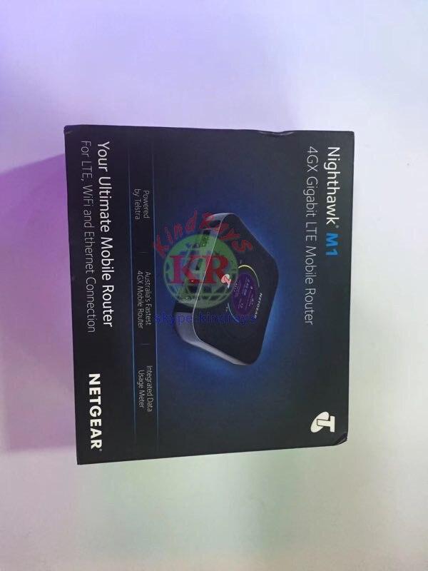 Routeur Mobile Netgear Nighthawk M1 4GX Gigabit LTE débloqué rj45 1000 mbps lan M1 MR1100 CAT16 4GX Gigabit 4g Hotspot WiFi - 4