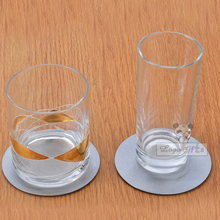 Cup mats Classical Round mat & pads for tableware dinner and bar supplies metal coffee MUG coaster table dining