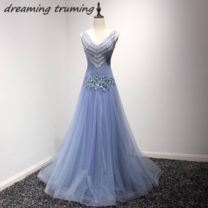 Stunning Long Mermaid Prom Dresses 2018 With Heavily Beading Sequined Tulle robe de mariage Party Formal Dress Plus Size
