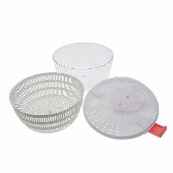 3 in 1 Fruit Dehydrator Dryer Salad Spinner Fruits Basket Vegetables Wash Clean Basket Storage Washer