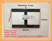 The Tablet Battery 30145182 11000mah 3 7V Polymer Lithium Ion Li Ion Battery For Tablet Pc